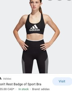 Adidas dont rest sports bra